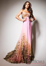 Tony Bowls Le Gala 113536.  Available in Pink/Multi