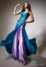 Tony Bowls Le Gala 113543.  Available in Dark Turquoise/Purple