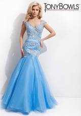 Tony Bowls Le Gala 114530.  Available in Light Blue, Light Champagne, Mint, Pink, White