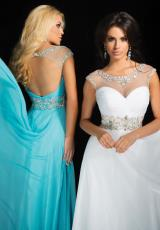 Tony Bowls Le Gala 114541.  Available in Turquoise, White