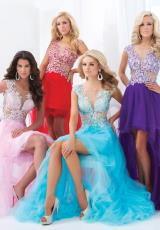 Tony Bowls Le Gala 114548.  Available in Pink, Purple/Nude, Turquoise/Nude
