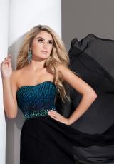 Tony Bowls Le Gala 115544.  Available in Black/Blue, Ice Pink, Turquoise, White/Pink