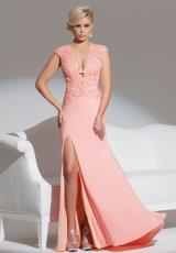 Tony Bowls Le Gala 115554.  Available in Coral, Light Turquoise