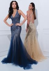 Tony Bowls Paris 114728.  Available in Champagne/Silver, Navy Blue