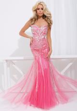Tony Bowls Paris 114740.  Available in Coral, Ivory/Nude