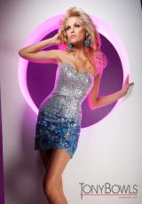 Tony Bowls Shorts TS11376.  Available in Silver/Multi