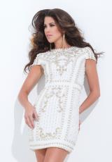 Tony Bowls Shorts TS11483.  Available in Off White/Gold