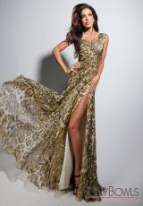 Tony Bowls Evenings TBE11312.  Available in Green/Multi
