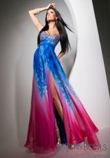 Tony Bowls Evenings TBE11319.  Available in Blue/Multi
