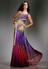 Tony Bowls Evenings TBE11327.  Available in Purple/Multi