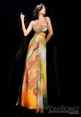 Tony Bowls Evenings TBE11339.  Available in Orange/Multi