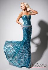 Tony Bowls Evenings TBE11348.  Available in Turquoise