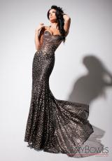 Tony Bowls Evenings TBE11354.  Available in Cafe/Gold