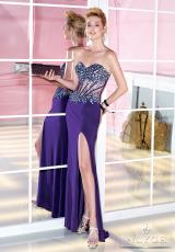 Alyce 6281.  Available in Black, Diamond White, Purple, Red