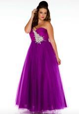 Cassandra Stone II Plus Size 61277K.  Available in Ocean Blue, Purple