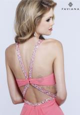 Faviana 6925.  Available in Ice Pink, Ivory, Purple, Sorbet, Tiffany Blue
