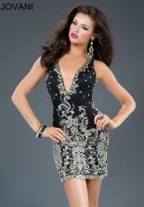 JVN by Jovani JVN90308.  Available in Black, Ivory, Navy