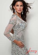 Jasz Couture 4854.  Available in Light Blue, Royal, White