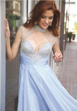Jovani 98546.  Available in Blush, Light Blue, Red