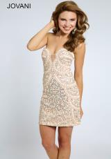 Jovani Cocktail 20440.  Available in Blush