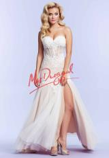 MacDuggal 10000M.  Available in Ivory/Nude, Lemon/Lilac, Midnight