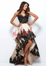 MacDuggal Cocktail 61993R.  Available in Nude/Black