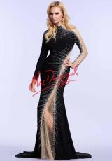 MacDuggal Cocktail 76731M.  Available in Black/Gunmetal