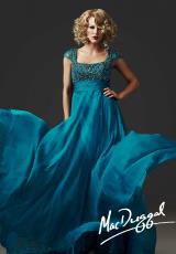 MacDuggal Couture 78842D.  Available in Peacock