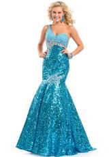 Party Time Dresses 6093.  Available in Copper, Turquoise