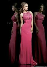 Sherri Hill 11106.  Available in Black, Nude