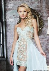 Sherri Hill 11143.  Available in Aqua/Green