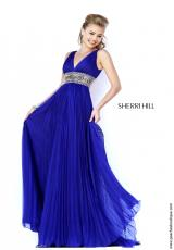 Sherri Hill 11189.  Available in Aqua, Coral, Emerald, Ivory, Ivory/Gold, Pink, Purple, Seafoam, Yellow