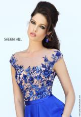 Sherri Hill 11214.  Available in Black, Blush, Emerald, Ivory, Nude, Red, Royal