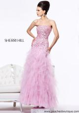 Sherri Hill 1574.  Available in Pink