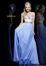Sherri Hill 1923.  Available in Blue, Light Green, Nude, Peach, Periwinkle, Pink, White