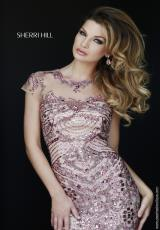 Sherri Hill 1939.  Available in Black, Blue, Bronze, Gunmetal, Jade, Light Blue, Royal, Ruby, Silver