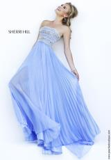 Sherri Hill 32182.  Available in Blue, Green, Peach, Periwinkle, Pink, Yellow