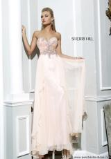 Sherri Hill 3895.  Available in Ivory/Gold, Light Aqua, Light Peach, Light Pink, Light Yellow