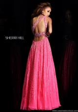 Sherri Hill 8506.  Available in Pink, Turquoise