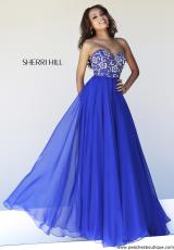 Sherri Hill 8545.  Available in Black, Coral, Emerald, Fuchsia, Ivory, Light Green, Lilac, Nude, Purple, Red, Royal, Turquoise