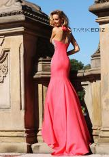 Tarik Ediz 92048.  Available in Coral, Emerald, Navy, Powder, Red, Stone