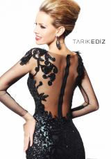 Tarik Ediz 92105.  Available in Black
