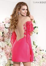 Tarik Ediz 92185.  Available in Coral, Ivory