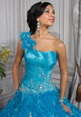 Tiffany Quinceanera 26678.  Available in Purple, Turquoise