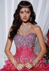 Tiffany Quinceanera 26743.  Available in Fuchsia, Purple