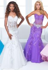 Tony Bowls Paris 114734.  Available in Aqua, Ivory, Pink, Purple