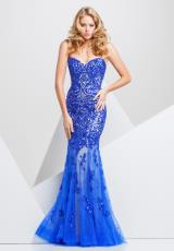 Tony Bowls Paris 115748.  Available in Royal Blue/Nude