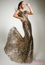 Tony Bowls Evenings TBE11336.  Available in Gold