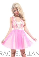Rachel Allan 6629.  Available in Hot Pink, Soft Jade