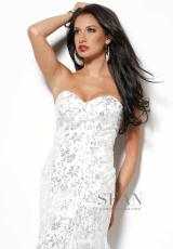 Sean 50491.  Available in Champagne Coral, White Silver